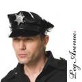 【LEG AVENUE】エナメルポリス帽子 メンズA1006(US2635)