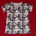 カモフラージュ柄 半袖Tシャツ(K3186)
