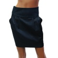 【75%OFF】【USA】デニム タイトミニスカート サイドポケットデザイン(US2934)