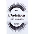 【Christina】人毛 つけまつ毛 100% Human Hair #47(US3268)