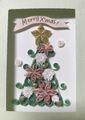 フォトペーパーフレーム・クリスマスツリー(パステルピンク)