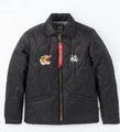 ALPHA スーベニアパディングジャケット BLACK