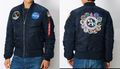 ALPHA INDUSTRIES MA-1 タイトジャケット アポロ TA0113