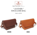 LEATHER ROLL SHOULDER BAG  HEATH.COLLECTION