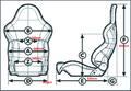 スパルコリクライニングシート R100 (アール100)