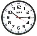 MFJ-126Bアナログ式壁掛け時計