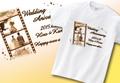 【Aniversa-T】結婚祝い フィルムTシャツ