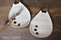 くるりんしっぽ猫皿