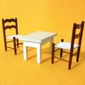 ●SOLD●【Sサイズ】 白いテーブルと椅子
