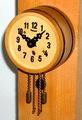 西ドイツ製 ミニサイズ樽型時計 1950〜60年代【W066】
