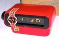 SANKYO ドラム式時計 デッドストック新品(箱・説明書・保証書他付)昭和52年【E018】