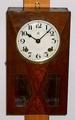 愛知時計 小型柱時計 昭和13年【W065】