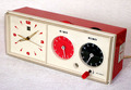 ナショナル 2段タイマー時計 昭和40年代【E005】