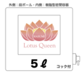 「コック無」条件予約受注・ロータスクィーン・5L(付属品無)
