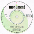 ROBERT KNIGHT / BLESSED ARE THE LONELY