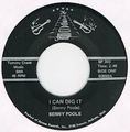 BENNY POOLE / I CAN DIG IT