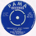 BOBBY PATTERSON & THE MUSTANGS / BROADWAY AIN'T FUNKY NO MORE