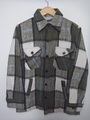 80's World Police CPOシャツ 緑(商品番号L0010)