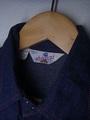 70's USA製デニム地ウエスタンシャツ(商品番号L0013)
