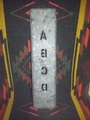 60'sステンシルプレートABCD(商品番号O0042)