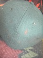 50's ウールベースボールキャップ 緑(商品番号O0030)
