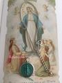 聖母マリア・メダイ大ネックレス(トルコ・聖母マリア家のメダイ)