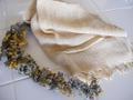 ミモザ染スカーフ