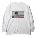 サニーデイ・サービス /「セツナ」ロングスリーブTシャツ(Long SleeveT-shirt/white)