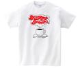 サニーデイ・サービス / 復刻版コーヒーカップTシャツ(T-shirt/white)