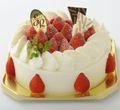 デラックス生クリーム  ケーキ 18cm