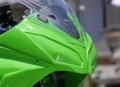 '13~Ninja250 ライトカバー/レース