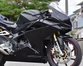 CBR250RR(MC51)フルカウル/レース/黒ゲル/ファスナーver