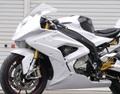 '15~ S1000RR フルカウル/レース/白ゲル*ファスナー仕様