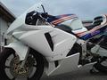 90~CBR250RR「600RR」/フルカウル/レース/白ゲル