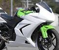 ~12 Ninja250R フルカウル&シングルシート/レース