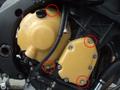 '08~'11YZF-R6 エンジンプロテクターtype2左右セット(カーボンケプラー)