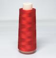 赤色 レーヨンミシン刺繍糸 5000m巻 ※2500mx2本での供給になります