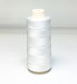 白色 レーヨンミシン刺繍糸 2500m巻