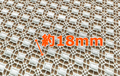 【20%OFF特価】国産コットンレース 95センチx3.7メートル スクエア 白