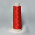 赤色 レーヨンミシン刺繍糸 1000m巻