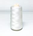 白色 レーヨンミシン刺繍糸 5000m巻 ※2500mx2本での供給になります