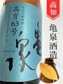 亀泉 純米吟醸原酒★ひやおろし★1.8L