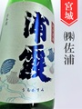 浦霞 夏純米 1.8L
