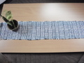 売り切れ・裂き織り網代織のランナー