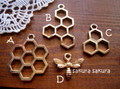 空枠*蜂の巣&蜂チャーム*