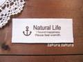 タグ*綿平 Natural life イカリ*3枚set