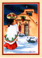 "Christmas Card ""Native American"""
