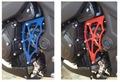 YZF-R3/R25、MT-03/25 CNCスプロケットカバー 赤/青
