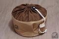 トランギア ストームクッカー Lサイズ 用収納袋 ●帆布ベージュ+ブラウン