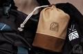 オプティマス123R 収納袋 ●帆布(ベージュ+チョコ)